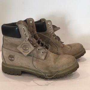 Timberland gray classic boots. Used.